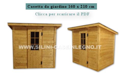 Casetta Giardino In Legno : Silini casette in legno per giardino e rimessaggi in legno