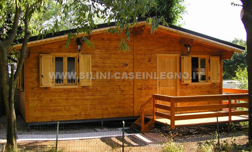 silini case mobili in legno prefabbricate per campeggi e