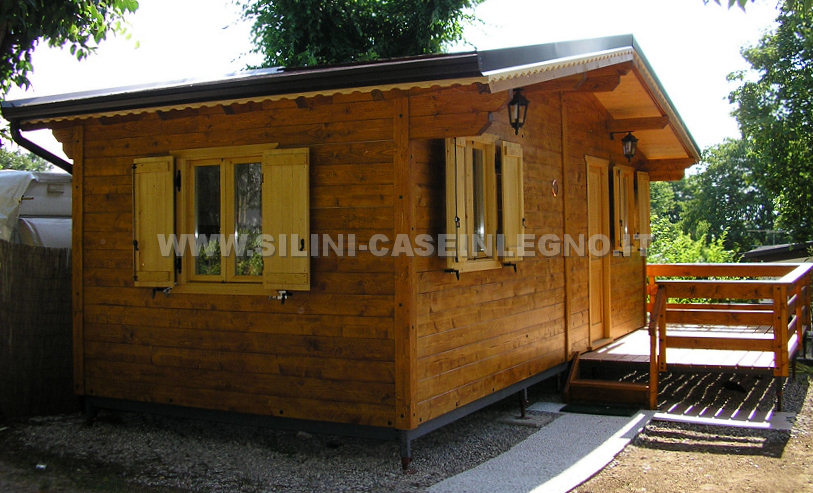 Silini case mobili in legno prefabbricate per campeggi e - Case in legno mobili ...