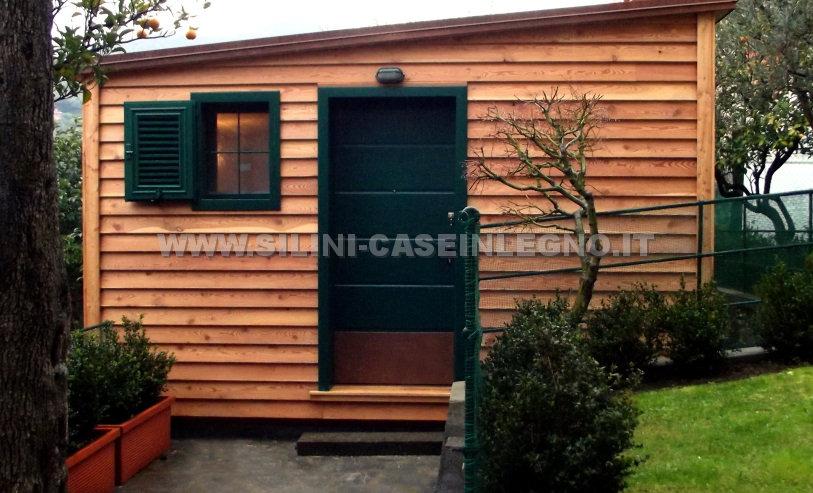 Silini casette in legno per giardino e rimessaggi in legno