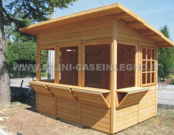 Silini prefabbricati in legno su misura casette e for Prefabbricati di legno