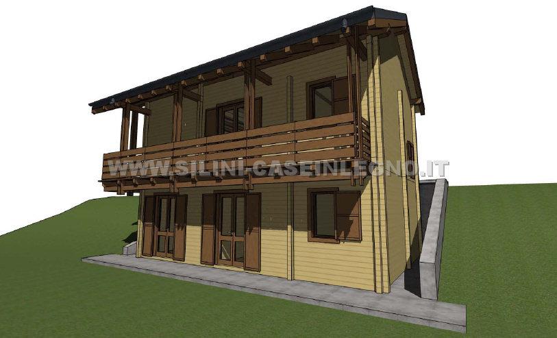 Casa su due piani progetto interesting nel mio progetto for Casa a due piani