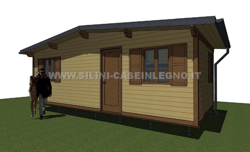Silini case mobili in legno prefabbricate per campeggi e for Casa mobile