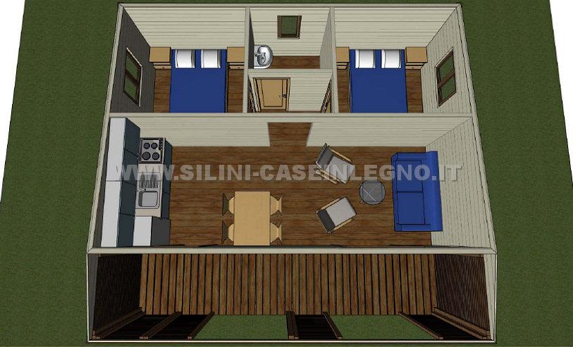 Casa mobile legno la mini casa mobile che non ha bisogno for Ultimi progetti di casa