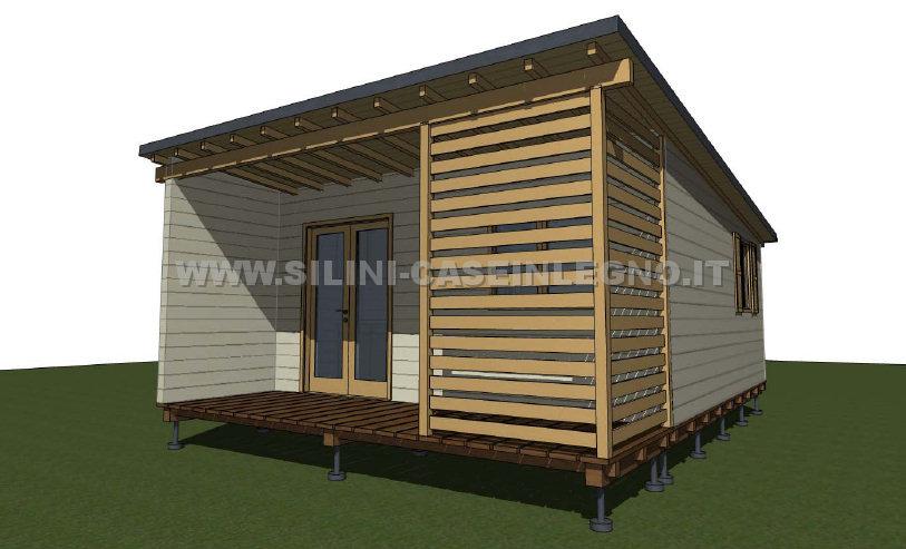 Silini case mobili su ruote per campeggio o villaggio for Casa moderna progetti
