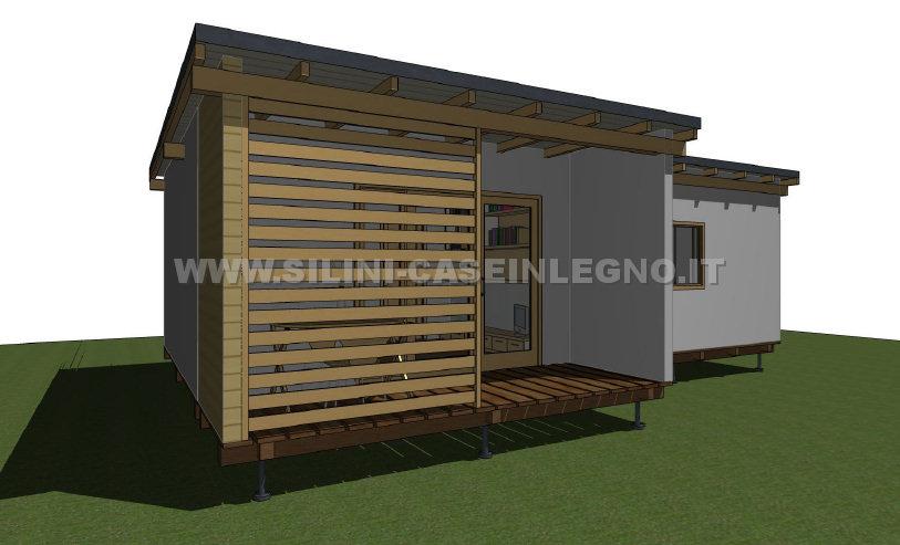 Silini motel prefabbricati in legno per strutture ricettive for Strutture prefabbricate in legno
