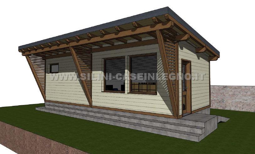 Ufficio In Legno Da Giardino : Silini produzione e progettazione strutture in legno sedi per